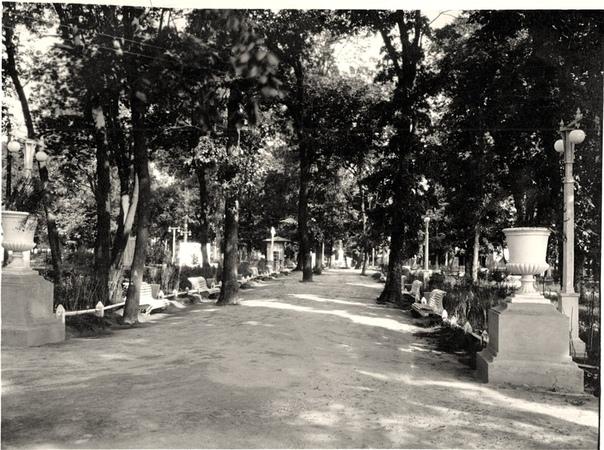 Парк конец 1940 -х годов