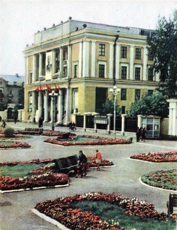 Дворец культуры брянских железнодорожников. Фото 1960-х гг.